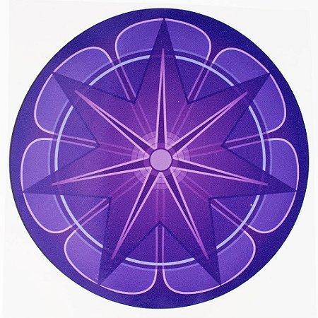 Adesivo Parede Mandala da Prosperidade 15cm