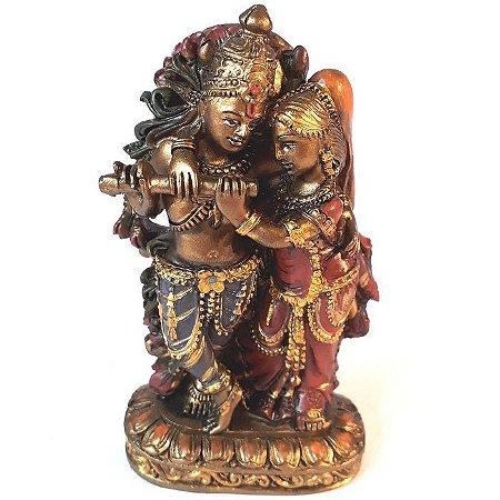 Casal Krishna e Radha - Amor transcendental
