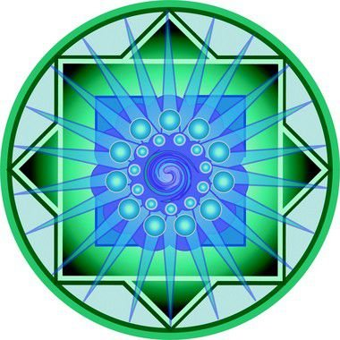 Adesivo Para Parede Mandala dos Sonhos 60cm
