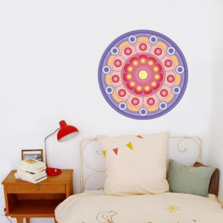 Adesivo Para Parede Mandala da Harmonia 60cm