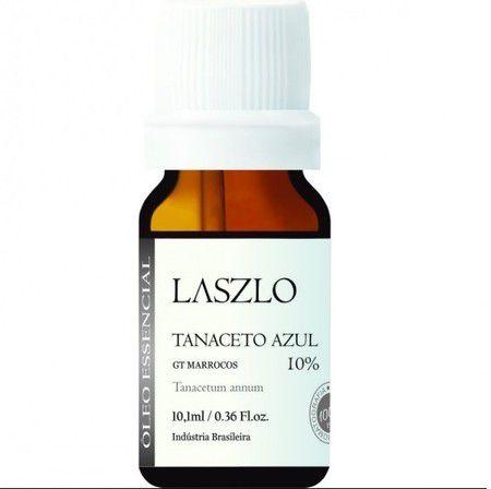 Óleo Essencial Tanaceto Azul Laszlo 10% GT Marrocos 10,1ml