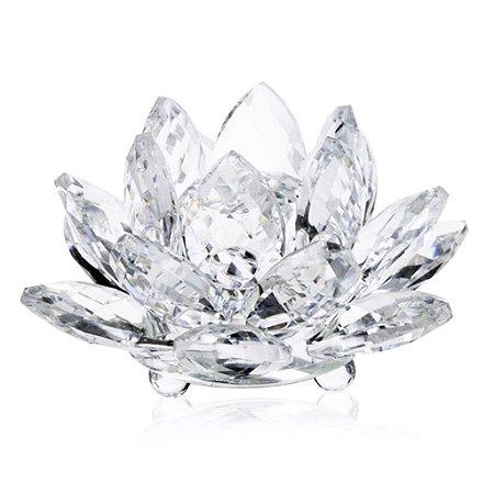 Flor de Lótus de Cristal G