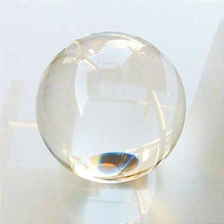 Esfera de Vidro Transparente para Decoração ou Reposição de Fonte