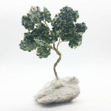 Árvore da Saúde de Jade Nefrita 24cm