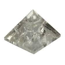 Pirâmide de Quartzo Cristal 400g