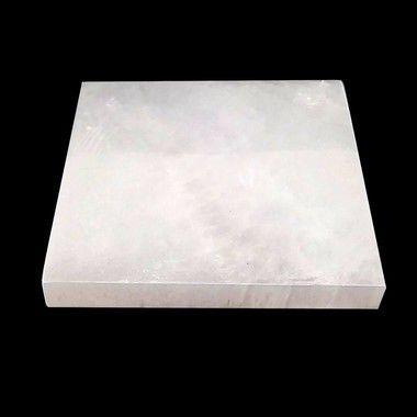 Placa de Selenita - Tabua De Pedra Limpeza de energia 15cm
