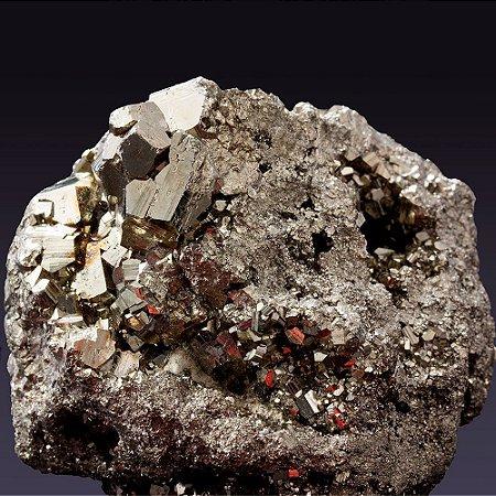 Pedra Pirita Grande 700g (grande potência energética)