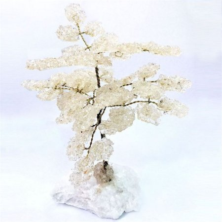Árvore da Abundância Cristal 13cm