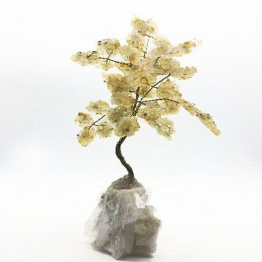 Árvore da Fortuna de Citrino 13cm