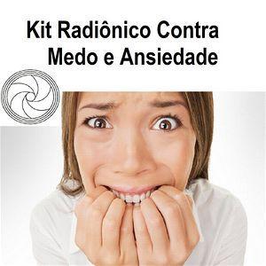 Kit Radiônica Medo e Ansiedade