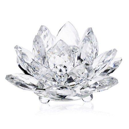 Flor de Lótus de Cristal M
