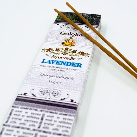 Incenso Indiano Lavanda Goloka