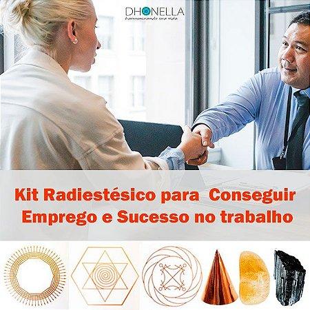 Kit Radiestesia Conseguir Emprego e Sucesso no trabalho