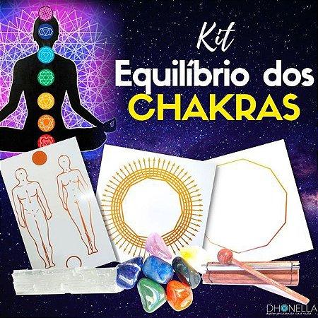 Kit para Alinhar, Equilibrar e Ativar os Chakras