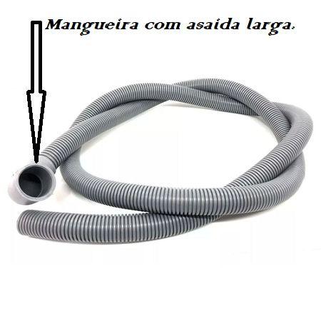 613-MANGUEIRA DRENAGEM SANFONADA SAIDA BRAST MONDIAL 1.40 MT
