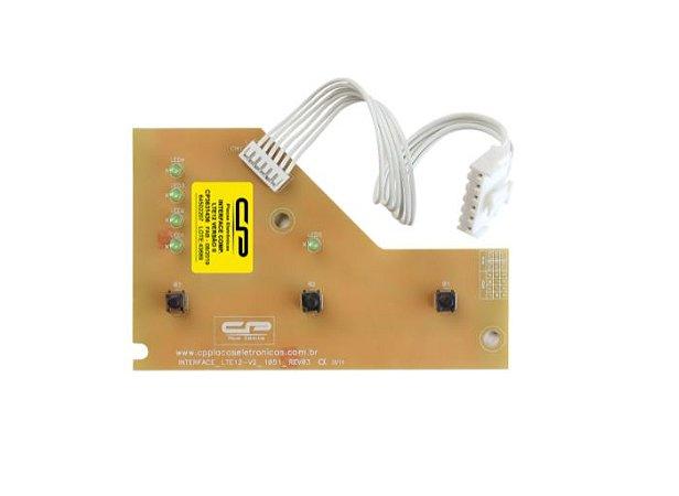 CP 3631436-Placa eletrônica de interface Lavadora Electrolux LTE12 bivolt