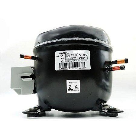 COMPRESSOR - EMBRACO 1/3  EGA100HLR R134A -  127V