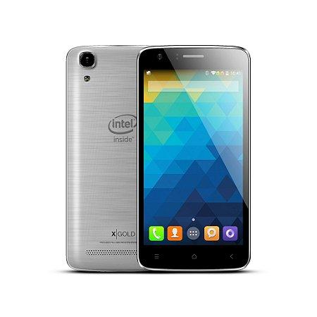 Smartphone Qbex X GRAY- W510 - INTEL