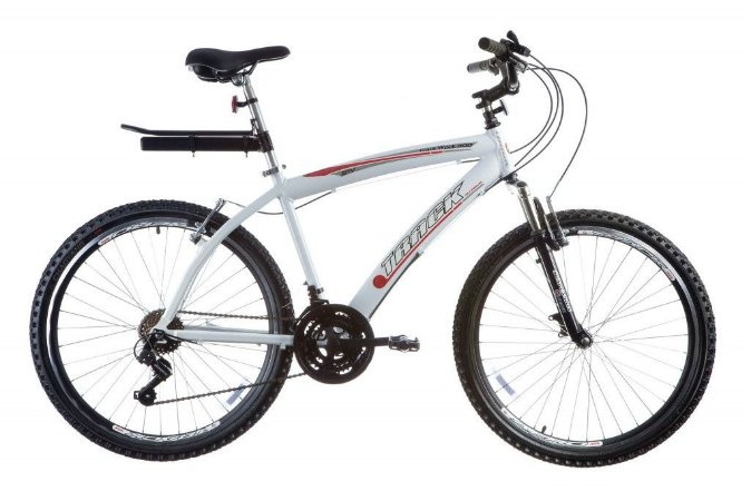 "Bicicleta Week 300 Plus Aro 26"" Confort Alumínio 21 Velocidades Branco - Track & Bikes"