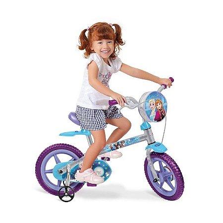 Bicicleta Aro12 Frozen Disney - Bandeirante