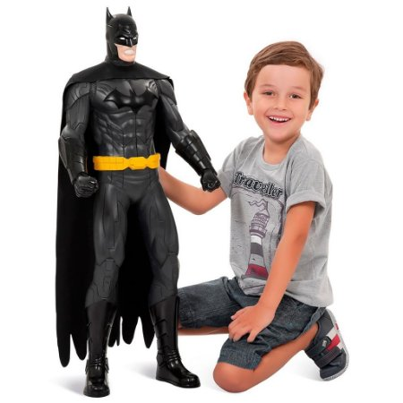 Boneco Batman Super Gigante 80CM - Bandeirante