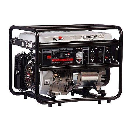 Gerador Gasolina Monofásico TG6000CXH - Toyama
