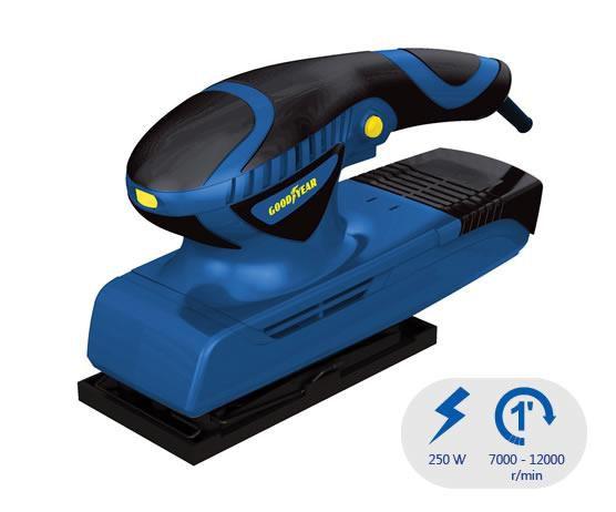 Lixadeira de Acabamento GY-FS-80250 250W 7.000 à 12.300 RPM Goodyear