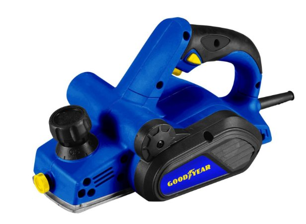 Plaina Elétrica GY-PL-90000-1 750W 16.500 RPM Goodyear