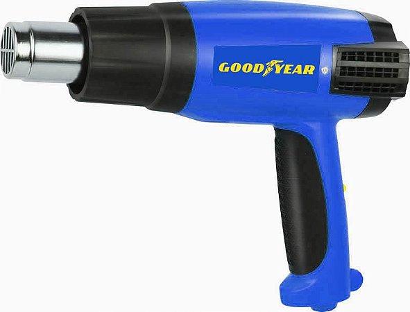 Soprador Térmico GY-HG-48300-1 2000W 2 temperaturas 350º/550ºC Goodyear