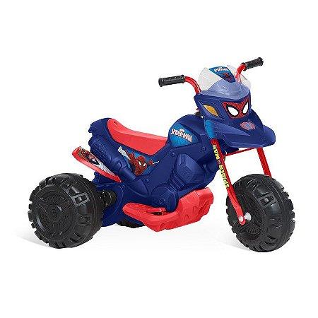 Moto Homem Aranha - EL 6V - Bandeirante