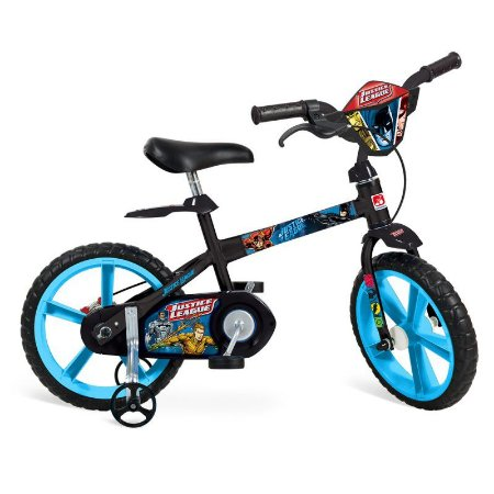"Bicicleta 14"" Liga da Justiça - Bandeirante"