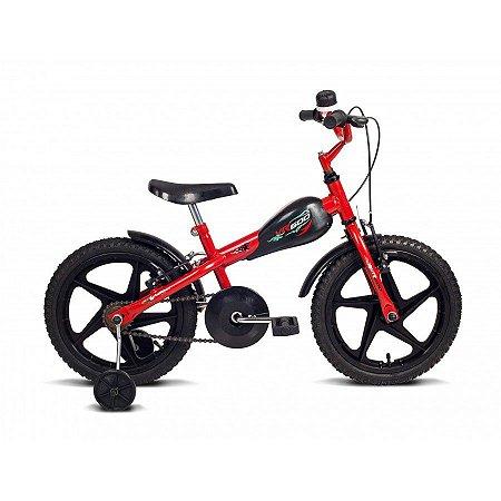 Bicicleta Infantil Aro 16 VR 600 Vermelha/Preto - Verden Bikes