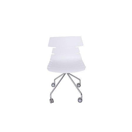 Cadeira Ripe com Rodízio - Falkk