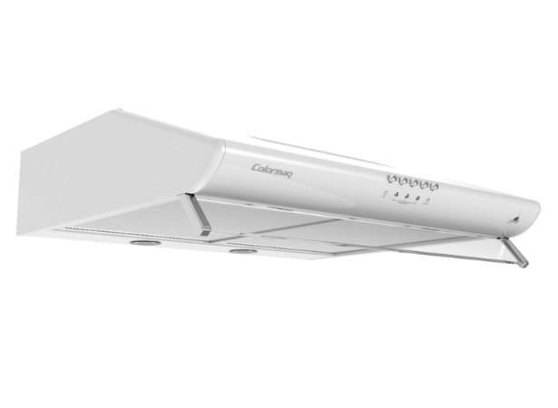 Depurador de Ar Gourmet Colormaq Branco 60cm - 3 Velocidades