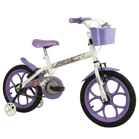 Bicicleta Aro 16 Track & Bikes Pinky
