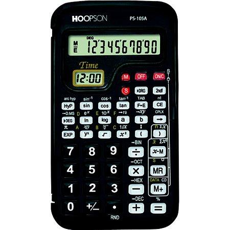 Calculadora Científica Hoopson Ps-105a 10 Díg. 56 Funções