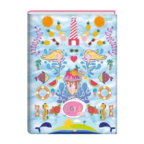 Caderno De Brochura 1/4 Jandaia It Girl Summer 96 Folhas