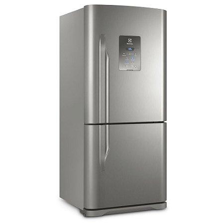 Refrigerador Frost Free Electrolux DB84X 598 Litros Duas Portas Inox