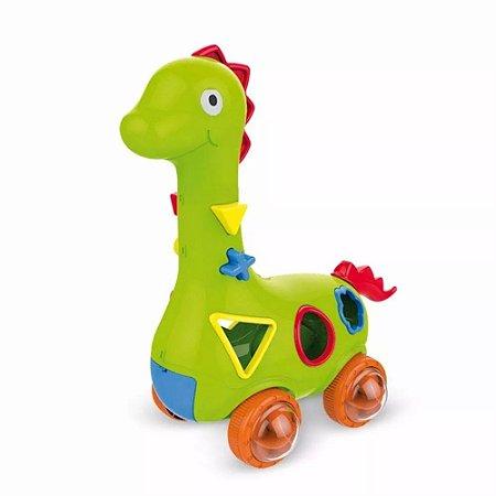 Coleção Baby Encaixes Dinossauro - Anjo Brinquedos