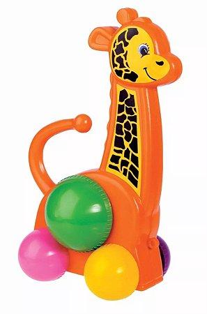 Girafa De Plástico Amiguinhos Da Floresta - Mercotoys