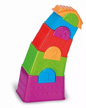 Torre Maluca 10 Pçs - Calesita
