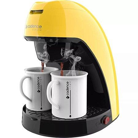 Cafeteira Single Cadence Colors CAF214 Amarelo 240ML