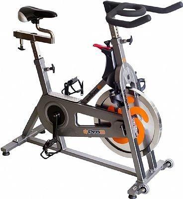 Bike Indoor Wellness PRO S - Roda de Inércia 19 kg - Transmissão Corrente - Ajuste de Nível Contínuo de Resistência