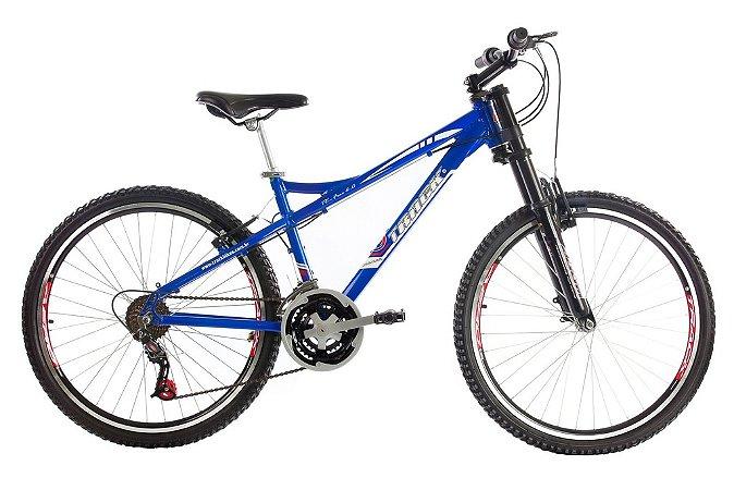 Bicicleta TK-Free Aro 26 Alumínio Susp 21V Azul Track Bike - Track & Bikes