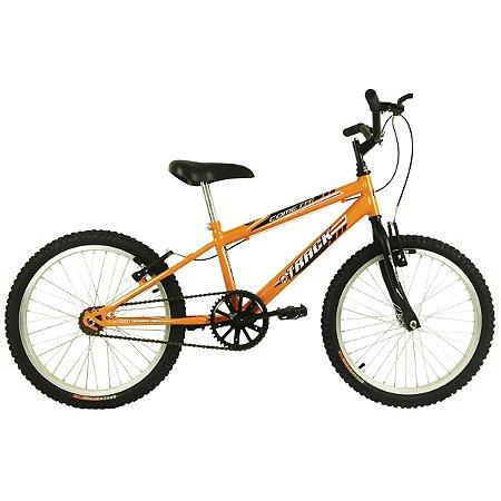 """Bicicleta Cometa Aro 20"""" Laranja  - Track & Bikes"""