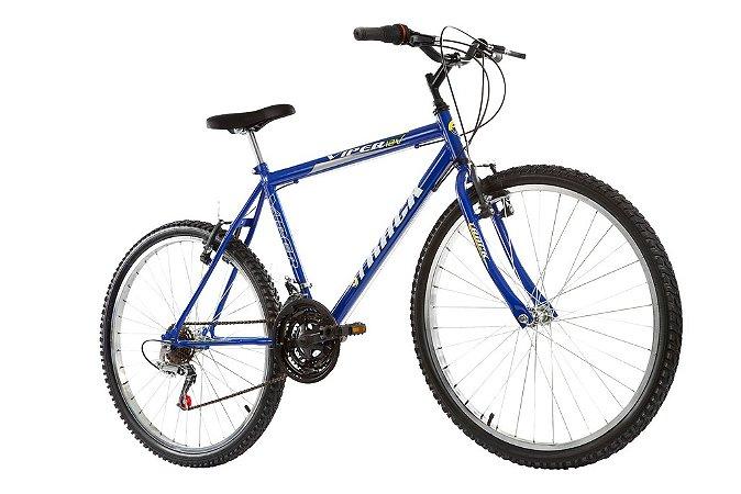 """Bicicleta Viper Aro 26"""" 18 Marchas Azul - Track & Bikes"""