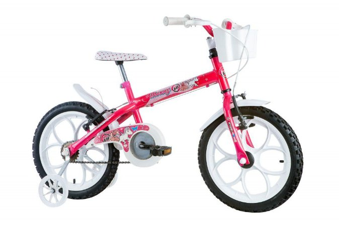Bicicleta Monny Aro 16 Rosa - Track & Bikes