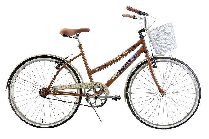 Bicicleta Aro 26 Comfort Classic Plus Marrom - Track & Bikes