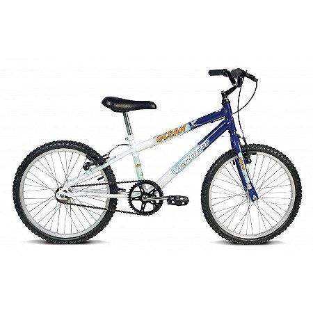 Bicicleta Aro 20 Ocean Branco/Azul - Verden