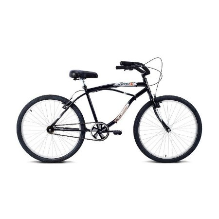Bicicleta Aro 26 Confort Preta - Verden